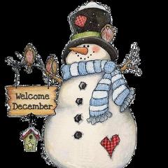 freetoedit december snowman scdecember