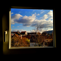 freetoedit window throughoutofmywindow sky clouds