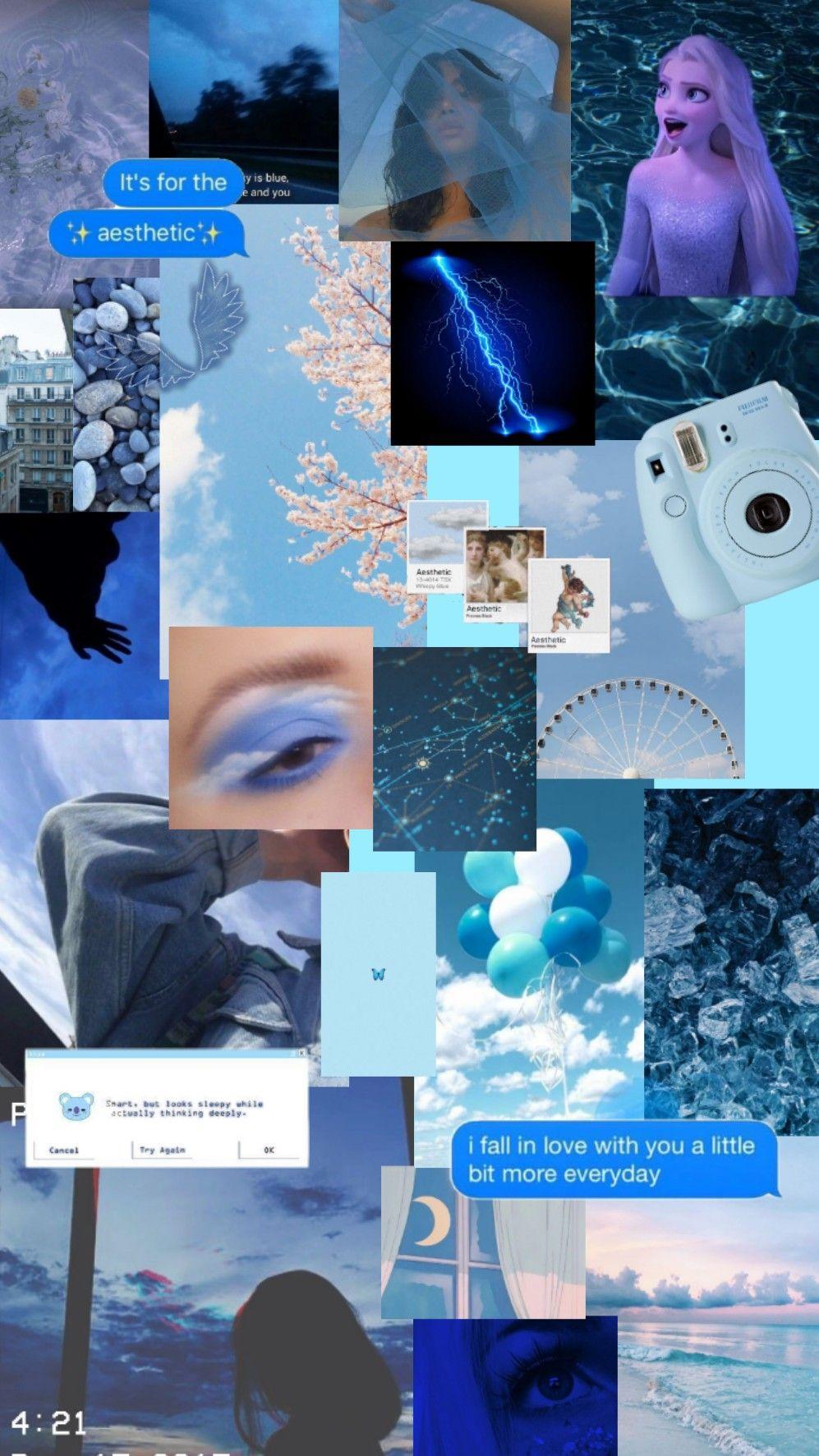 #freetoedit #aesthetic #blueaesthetic