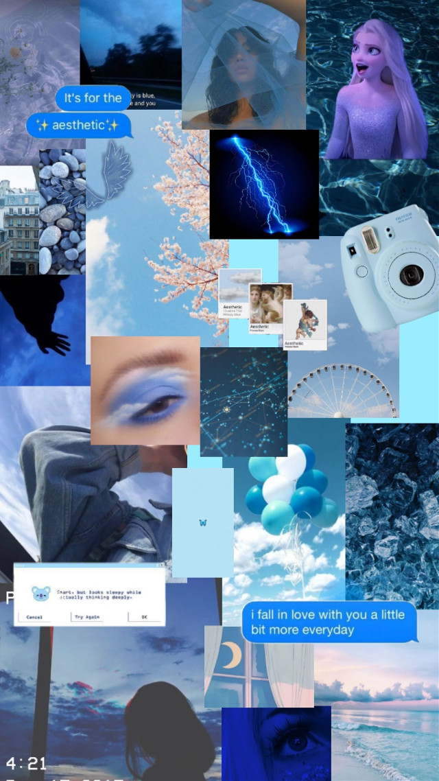 #freetoedit #aesthetic #blueaesthetic