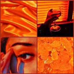 freetoedit orange orangeaesthetic gummybear