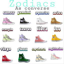 zodiac converse freetoedit