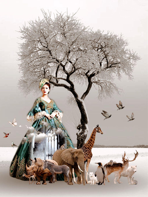 #freetoedit #wildlife #nature #myedit #fantasy #art #madewithpicsart #awesomestickers