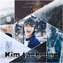 freetoedit bts kimtaehyung wintertime ccwintermoodboard wintermoodboard
