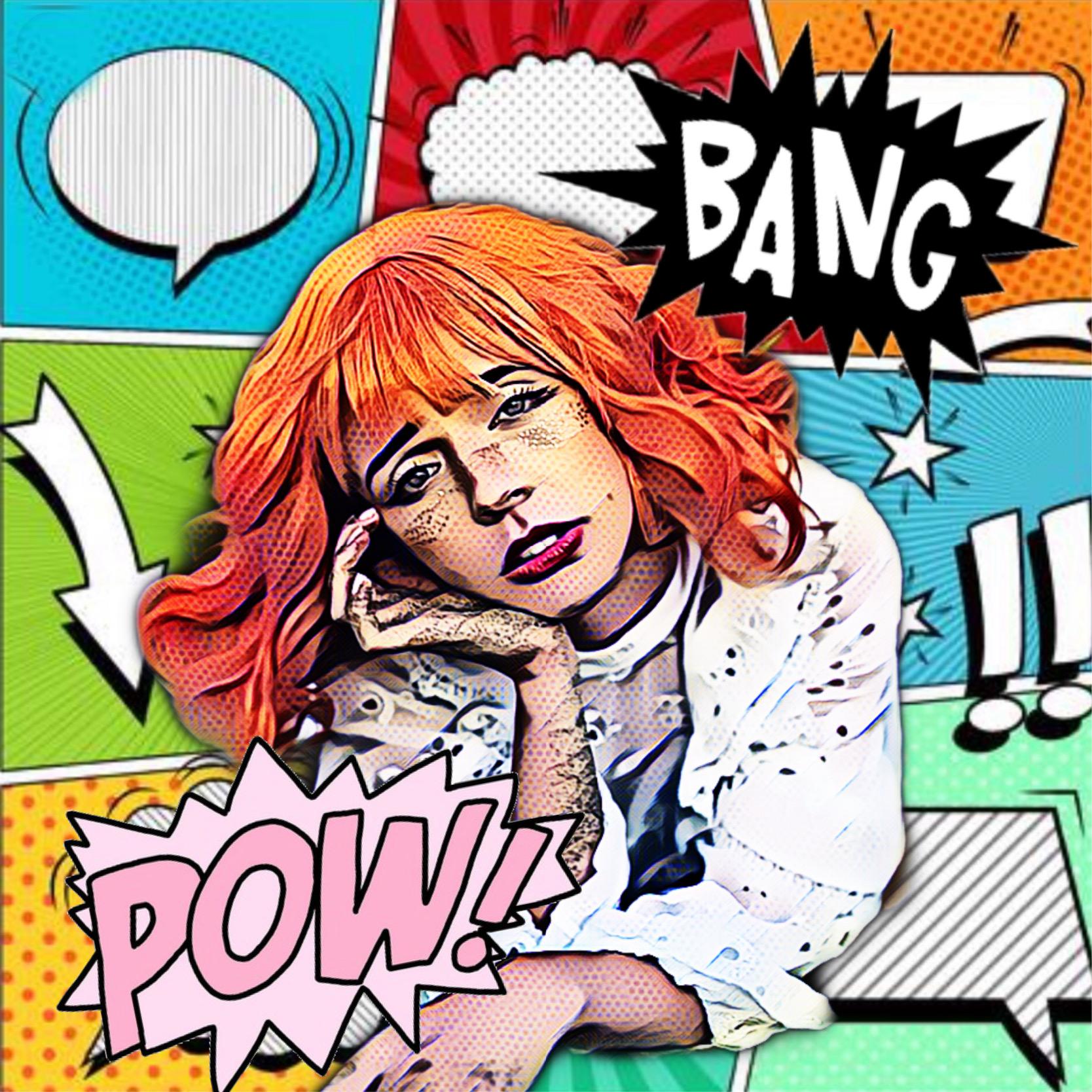 #freetoedit #comic #comicbook #magiceffect #magic #pow #bang #anime #popart