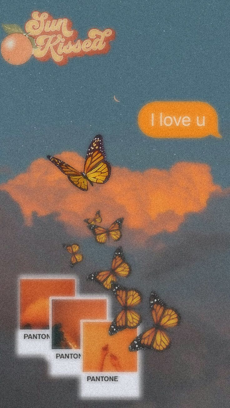 #aesthetic #kawaii #sadnesshappiness #art #sky #clouds #orangeaesthetic | first post, xx ❤️  #freetoedit