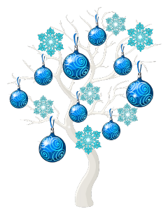 ftestickers christmas tree christmastree snowflakes freetoedit