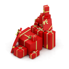 ftestickers christmas gifts presents 3deffect freetoedit