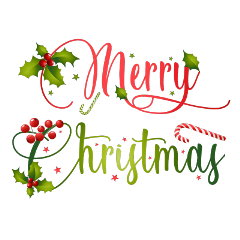 ftestickers christmas typography merrychristmas colorful freetoedit