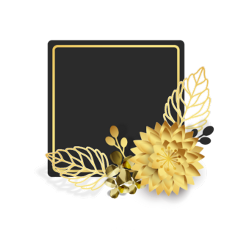 ftestickers christmas background frame gold freetoedit