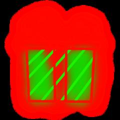 ftestickers christmas present gift neon freetoedit