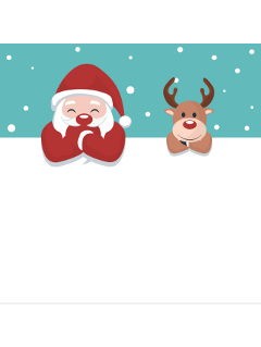 ftestickers christmas background santaclaus reindeer freetoedit