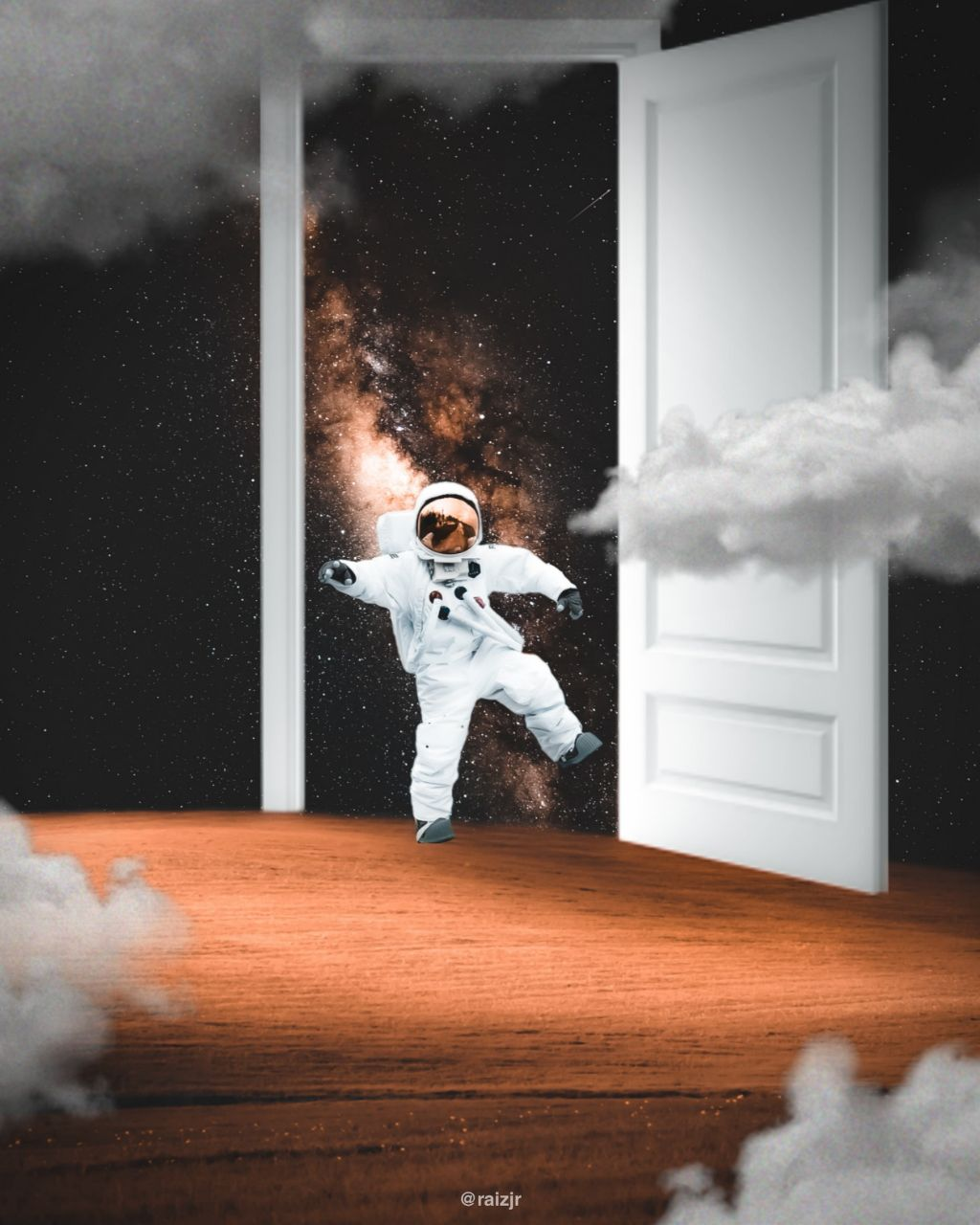 Lazy Astronaut.  #picsart #madewithpicsart #editing #art #stepbystep #visual #visualart #surreal #surrealart