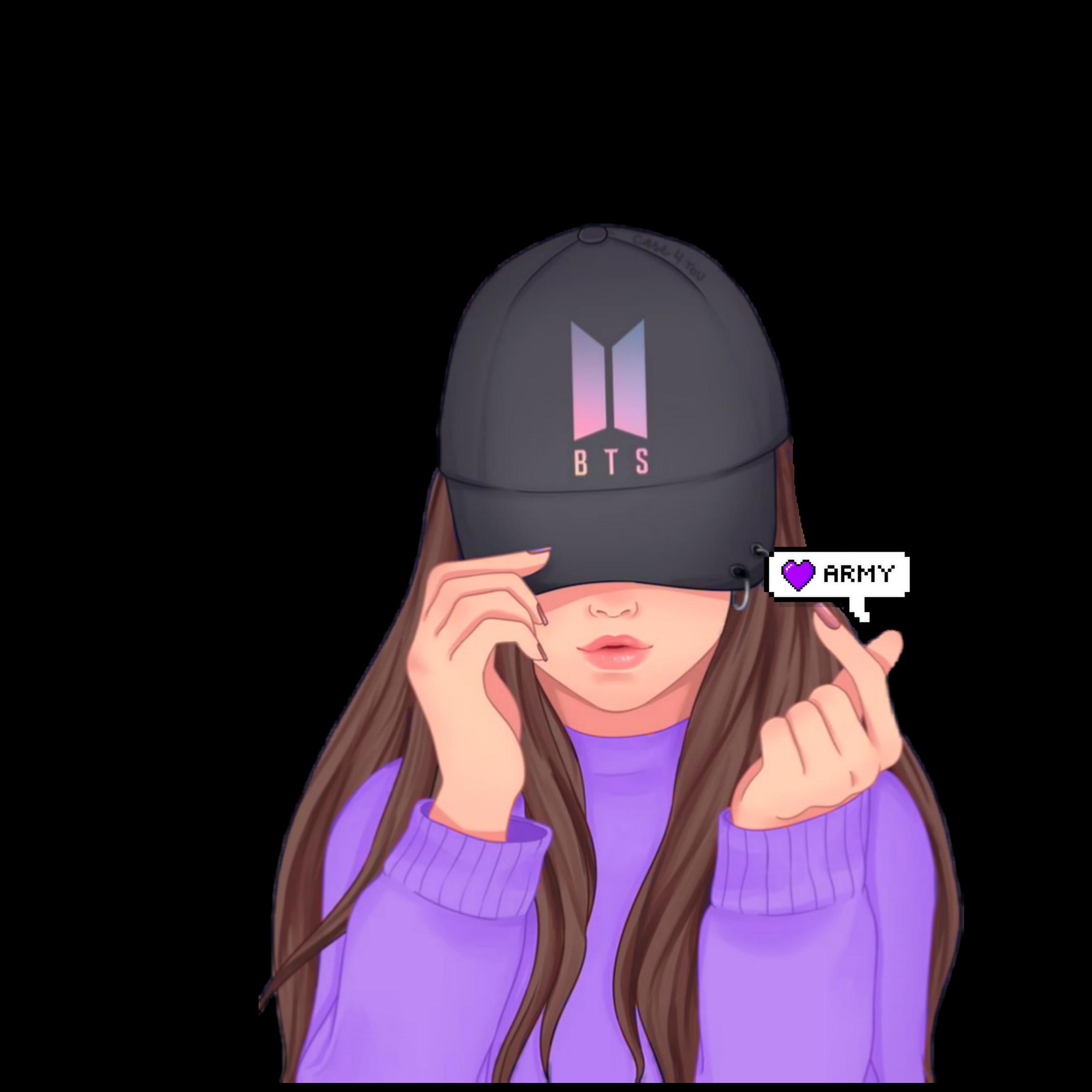 Bts Purple Sticker By 김 라나 Blink Army