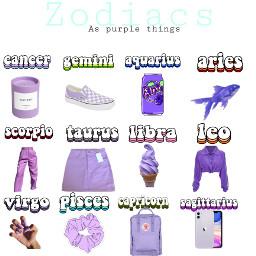 zodiacs purple freetoedit