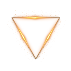 triangle gold 4asno4i золото треугольник ftestickers freetoedit scneons