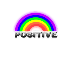positive rainbow happiness confident text ftestickers freetoedit