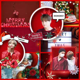 taekook vkook btsshipps christmas santa