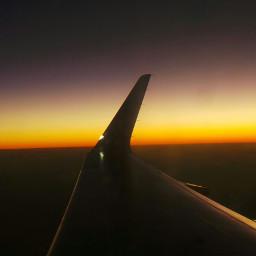 myphoto travel sky airplaneview nightphotography