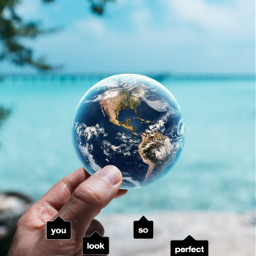 freetoedit hand planetearth beach quotesandsayings srccallout callout
