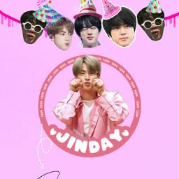 happyjinday jin seokjin kim birthday freetoedit