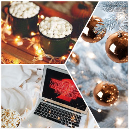 netflix strangerthings st2 christmas picsart ccwintermoodboard wintermoodboard