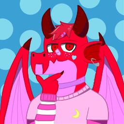 anthro dragon anthrodragon aesthetic pastelaesthetic