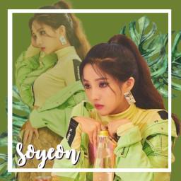soyeon gidle gidlesoyeon kpop kpopedit freetoedit