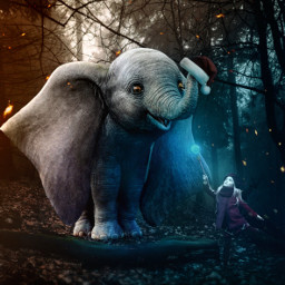 freetoedit elephant animals nature fantasy