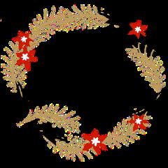 aesthetic merry christmas happynewyear венок freetoedit