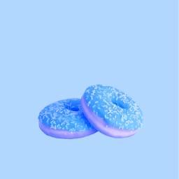 freetoedit donut donuts blue purple