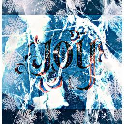 freetoedit joy text snowflakes ice ircicecrack icecrack