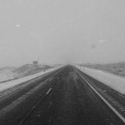 travel blackandwhite snow december picsart