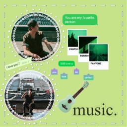 freetoedit musicaesthetic verde christophervelez
