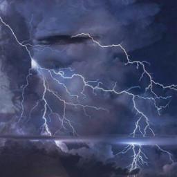 freetoedit @asweetsmile1 lightning faceart