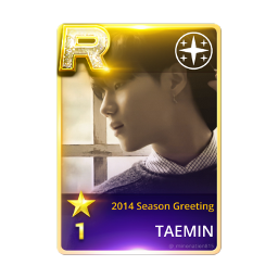 freetoedit shinee 2014 seasonsgreetings taemin