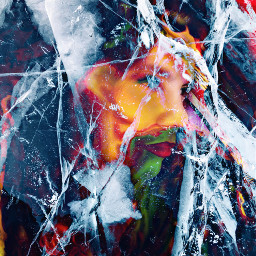 freetoedit ircicecrack icecrack colorful emotion