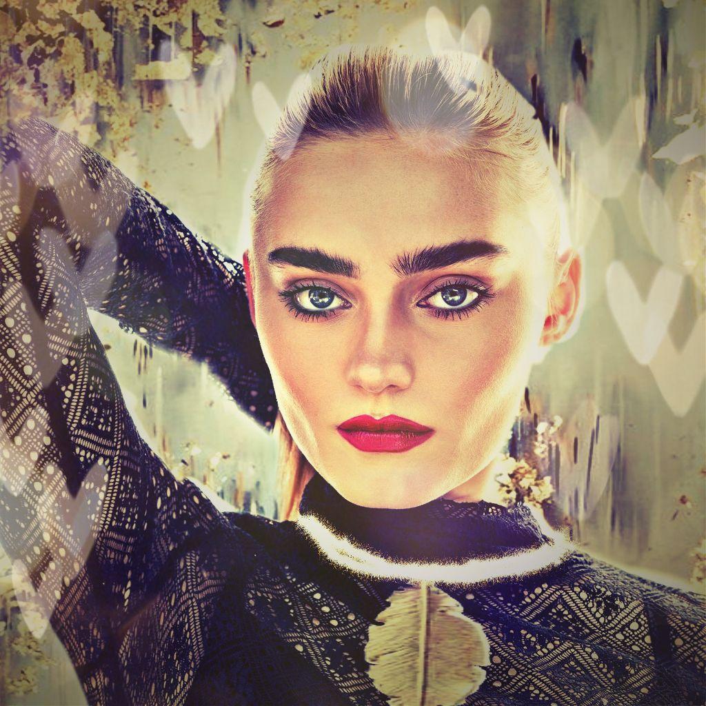 #freetoedit #megdonnelly #actress #beauty #makeup #remixed #gold #black #blonde #blond #longhair #beautiful