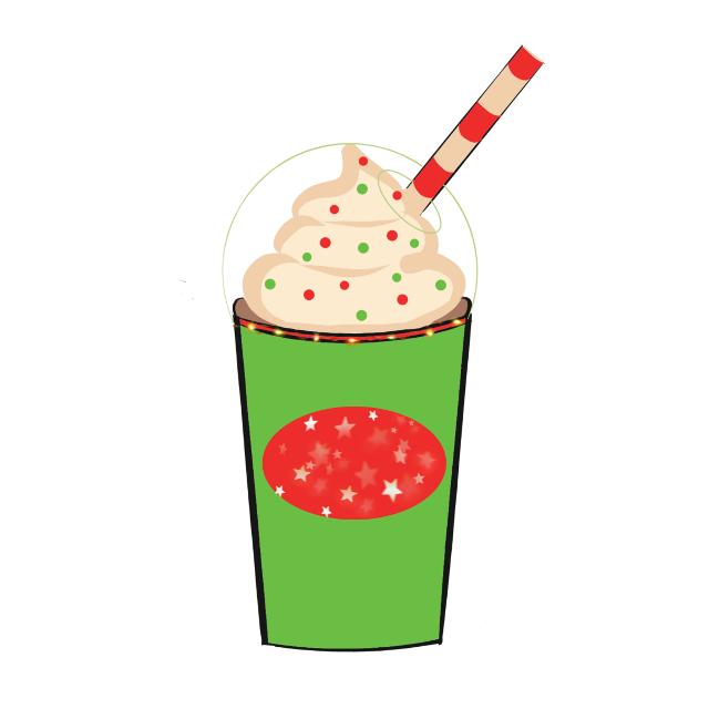#freetoedit #christmas #icedcoffee #mydrawing #brushtool