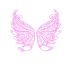 wings angel fairy pink fantasy freetoedit