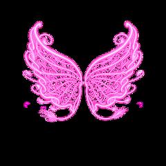 wings angel fairy pink fantasy freetoedit