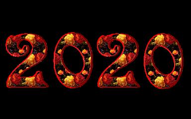 flowers floral newyear 2020 happynewyear ftestickers freetoedit