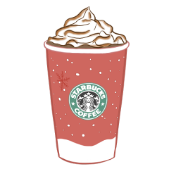 starbucks christmas winter aesthetic freetoedit