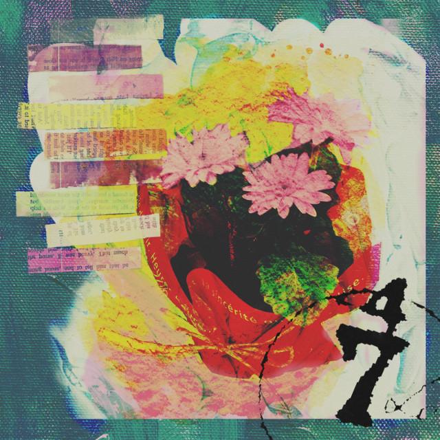 #freetoedit  #flower #backgrounds #tape #pencildrawing #paintbrush