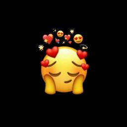 freetoedit wallpaper depression emoji iphone
