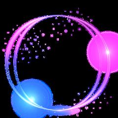 ftestickers circle circles light glow freetoedit