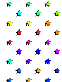 vsco colorful cute star stars freetoedit