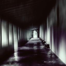 hall corredor retro photography ghostfollowers freetoedit