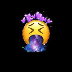 galaxy heart emoji iphone emojiiphone freetoedit