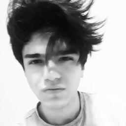 freetoedit hair picsartphoto picsart blackandwhite